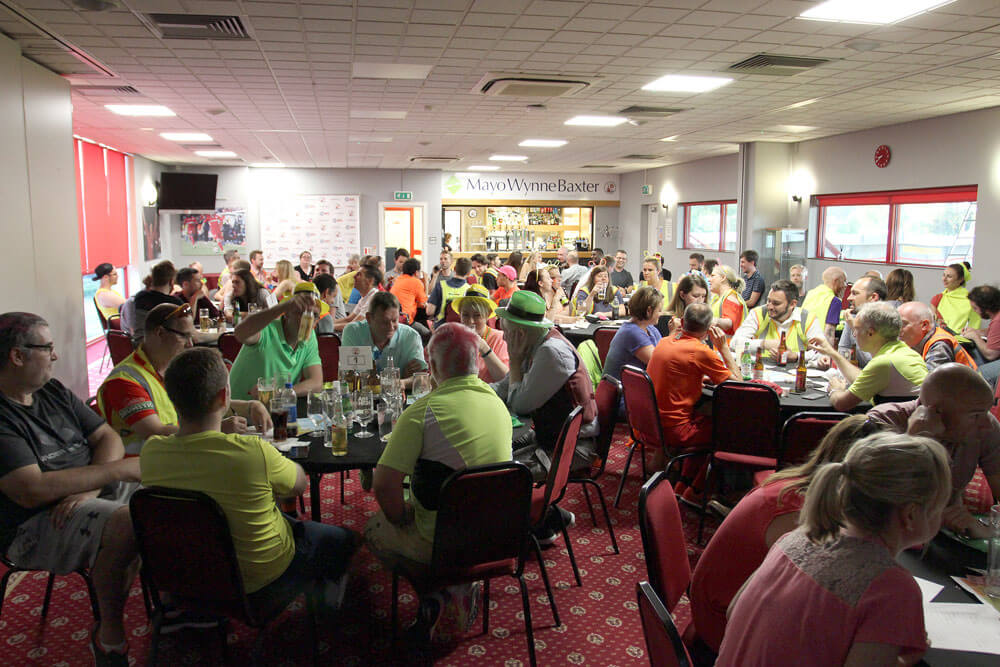 Evans Cycles Annual Staff Quiz & Fundraising Raffle